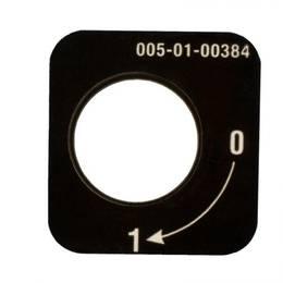 """štítek na eco s popisem """"0-1"""" """"malé"""" plast"""