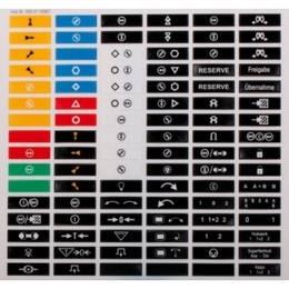 štítky na vysílač micron 4, 5 iLOG a 6 barevné