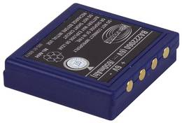 Baterie pro vysílač micron, orbit, 6 V/650mAh, (náhrada za FuB3A)