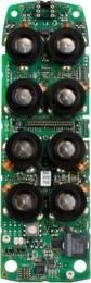 deska vysílače quadrix iLOG, 8 tlačítek